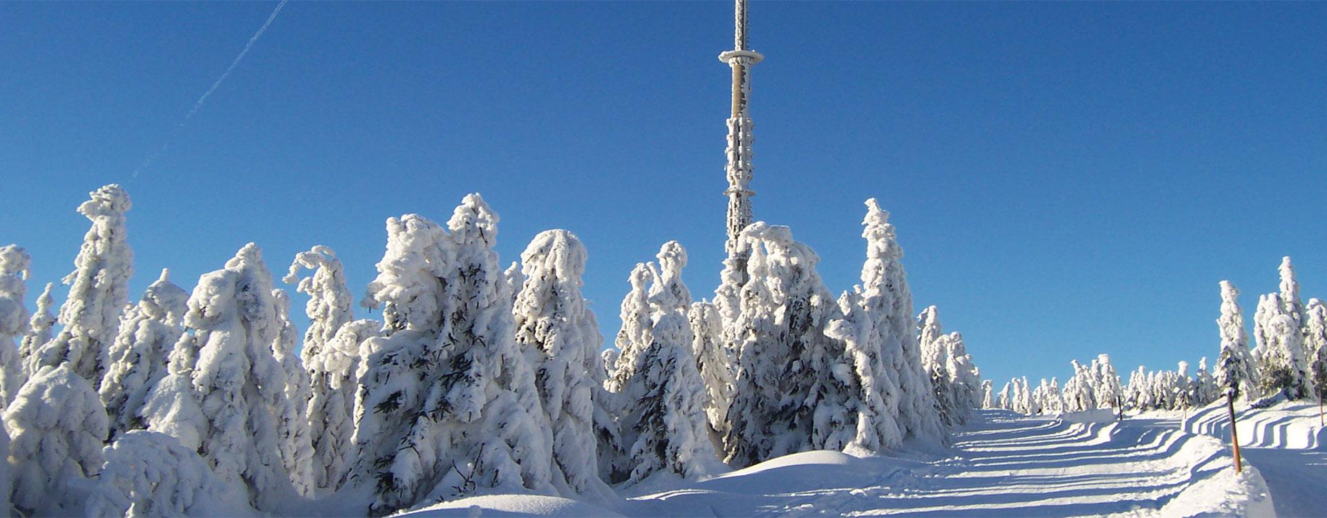 Wintersportregion  Ochsenkopf im Fichtelgebirge