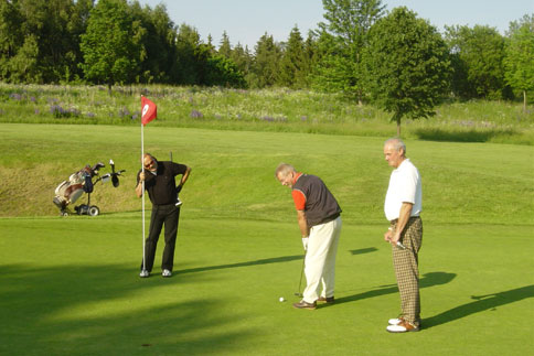 Golfen im Fichtelgebirge