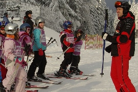 urlaub fichtelgebirge: skischule hottenroth am kleinen Ochsenkopf