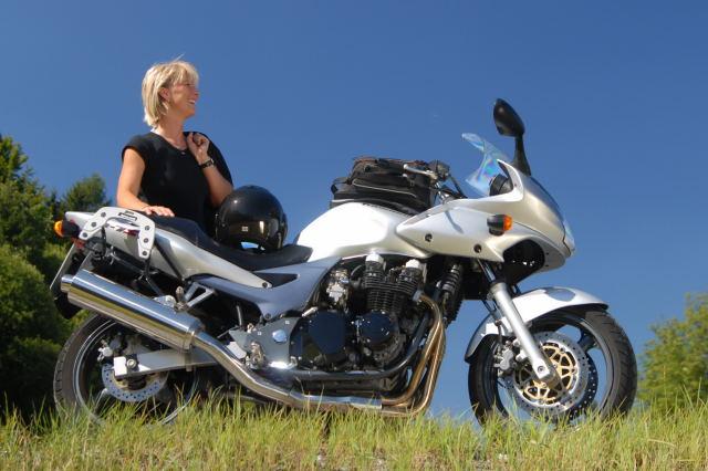 motorradtouren im fichtelgebirge: motorrad