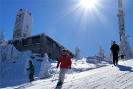 Wintersport am Ochsenkopf