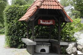grillstation bei den ferienwohnung fichtelgebirge hottenroth