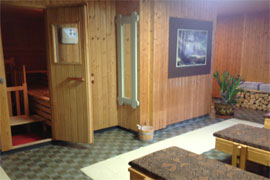 urlaub im fichtelgebirge: sauna im hotel barbara