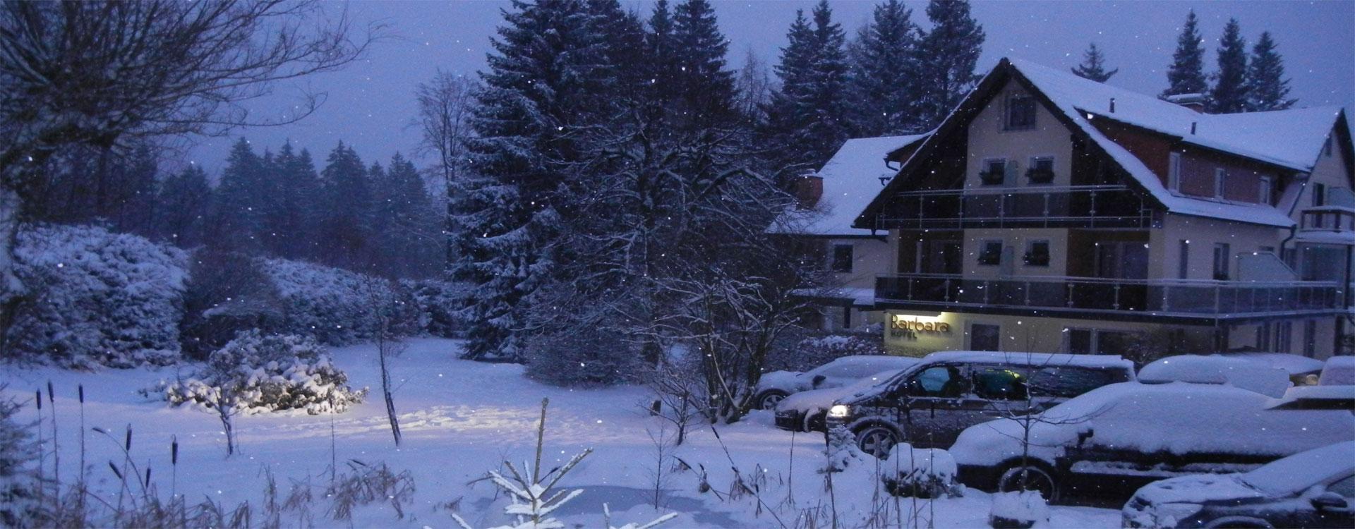 Ferienwohnungen im Wintersportzentrum