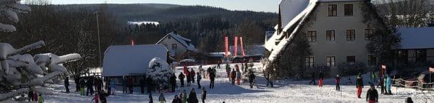 ferienhaus fichtelgebirge: skihang